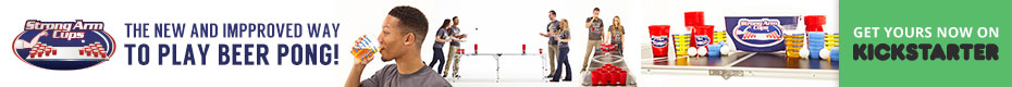 Strong Arm Cups: Improving the Game of Beer Pong
