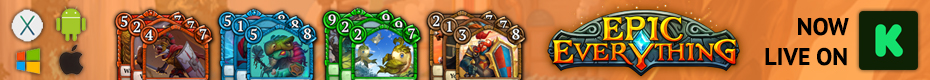 Epic Everything: Real-Time Collectible Card Game