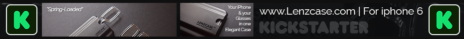 Lenzcase: your Phone+Glasses in one minimalist case