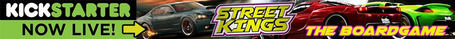Street Kings Boardgame - Ad A