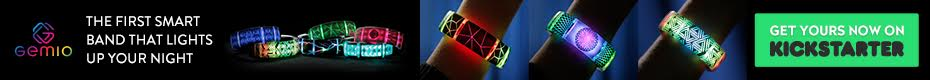 The First Smart Band that Lights Up Your Night