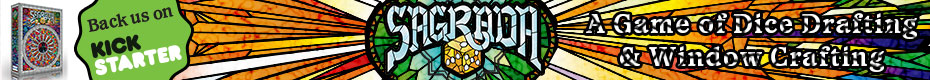 Sagrada - A Game of Dice Drafting and Window Crafting