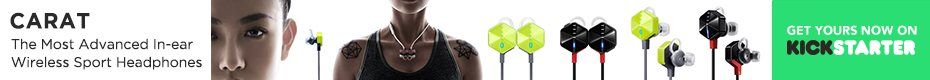 Carat Pro - Audiophile-quality, Stylish Sport Earbuds