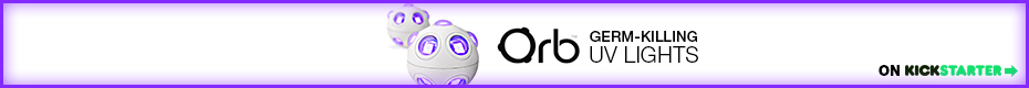 Orb™ – The World's First Germ-Killing UV Light Ball