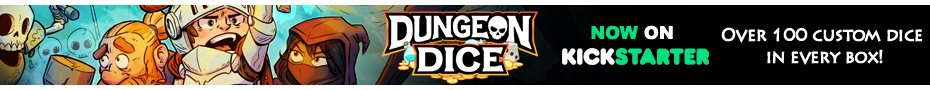 Dungeon Dice: THE LOST KING and Boxed Game