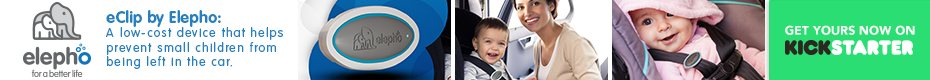 eClip®: Helping to prevent babies from being left in cars