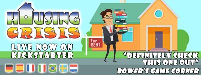 Housing Crisis - Two Player Light Strategy Game