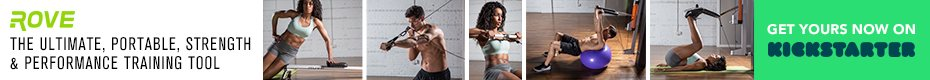 Rove Gym: Crush full-body workouts in minutes a day