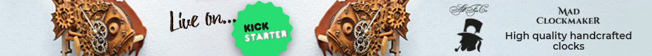 Madclockmaker: Wooden clock