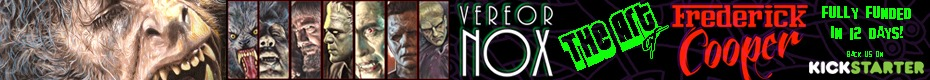Vereor Nox: The Monster Art of Frederick Cooper