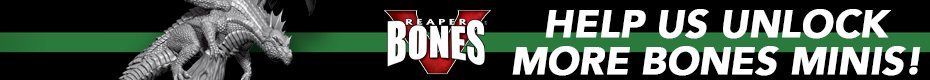 Reaper Miniatures Bones 5: Escape from Pizza Dungeon