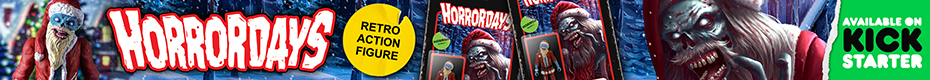 HORRORDAYS - Santa Corpse 80's Retro Style Action Figure