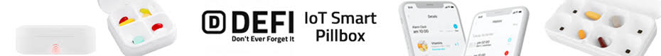 DEFI IoT Smart Pillbox: Portable, Reminder, Track your pills