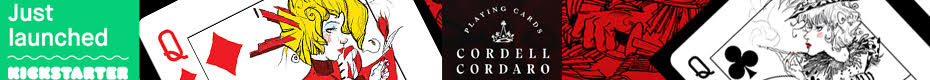 Cordell Cordaro Playing Cards: RED & BLACK Editions