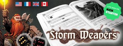 Storm Weavers: Story Driven Solo Tabletop Game