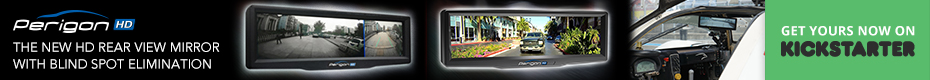 Perigon HD Digital Mirror: Drive safer with no blind spots
