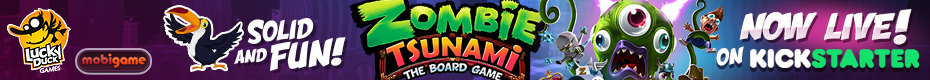Zombie Tsunami - The Board Game