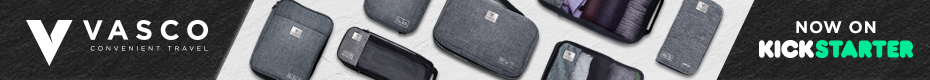 VASCO - SMART PACKING CUBES AND BAGS