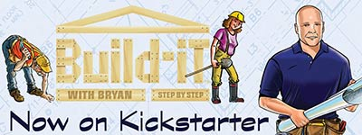 Build-iT With Bryan Step by Step | Home Building Board Game