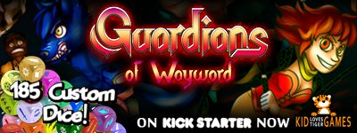 Guardians of Wayword - A Dice Building Game
