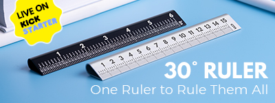 30° RULER 4.0: One Ruler to Rule Them All